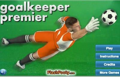 Goalkeeper Premier Free Fun Games