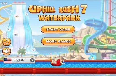 Uphill Rush 7 Waterpark Free Fun Games