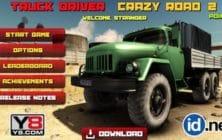 Truck Driver Crazy Road 2